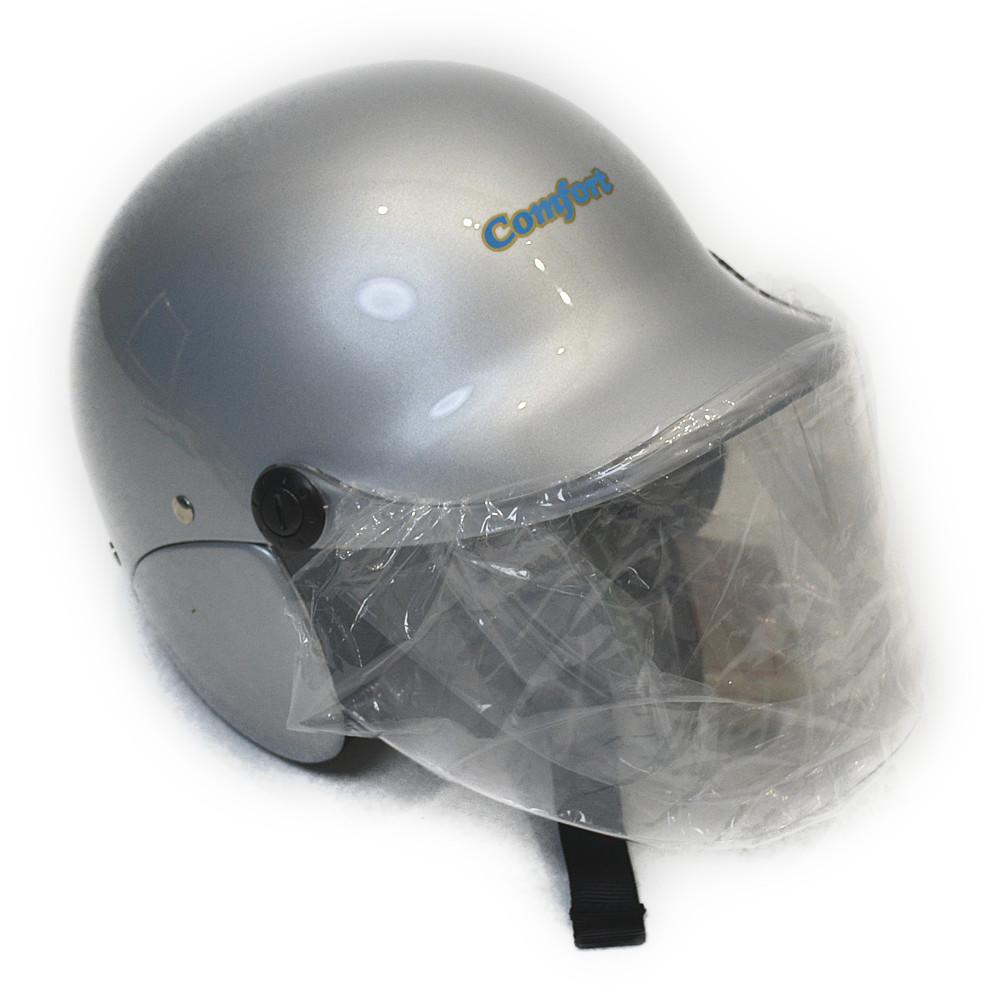 セミジェットヘルメット シルバー KO−329
