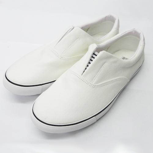 作業靴(内装用) ホワイト 24.5cm KQ04−5763
