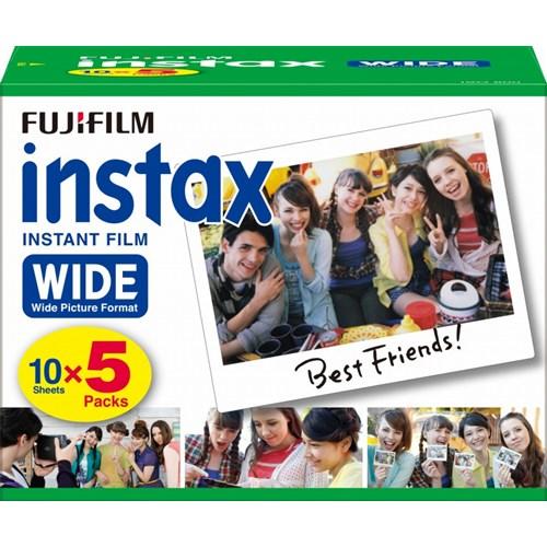 チェキワイド専用フィルム instax WIDE 5パック品 ※INSTAX WIDE K R 5