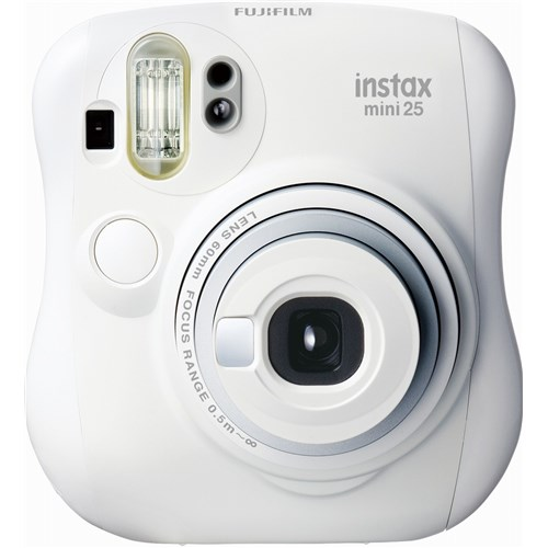 チェキ instax mini 25 ホワイト ※INS MINI 25 WT N