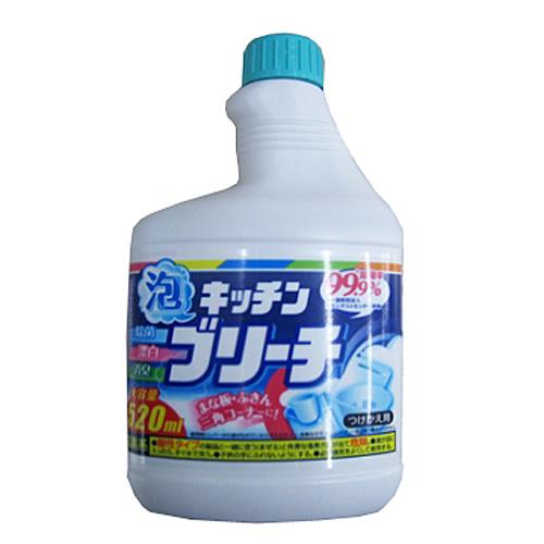 ○キッチンブリーチ泡スプレー つけかえ用 520ml