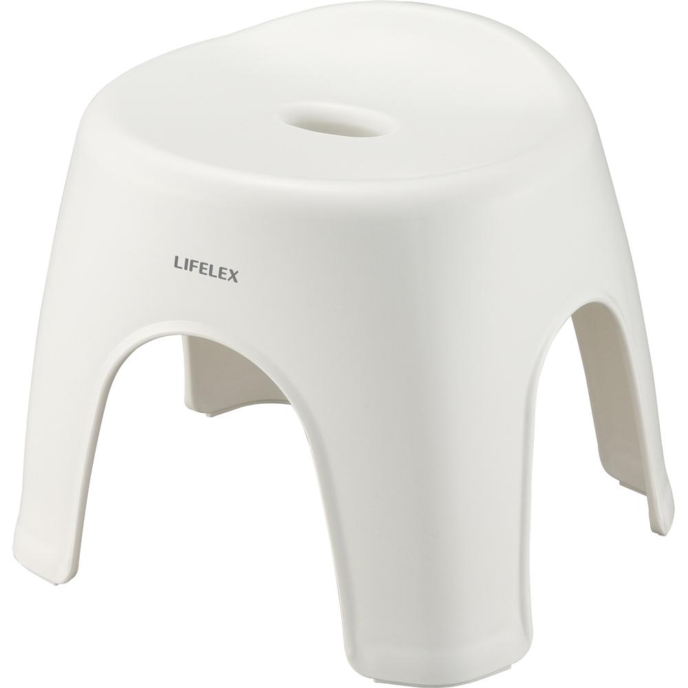 LIFELEX(ライフレックス) 風呂イス アーチ型28cm ホワイト