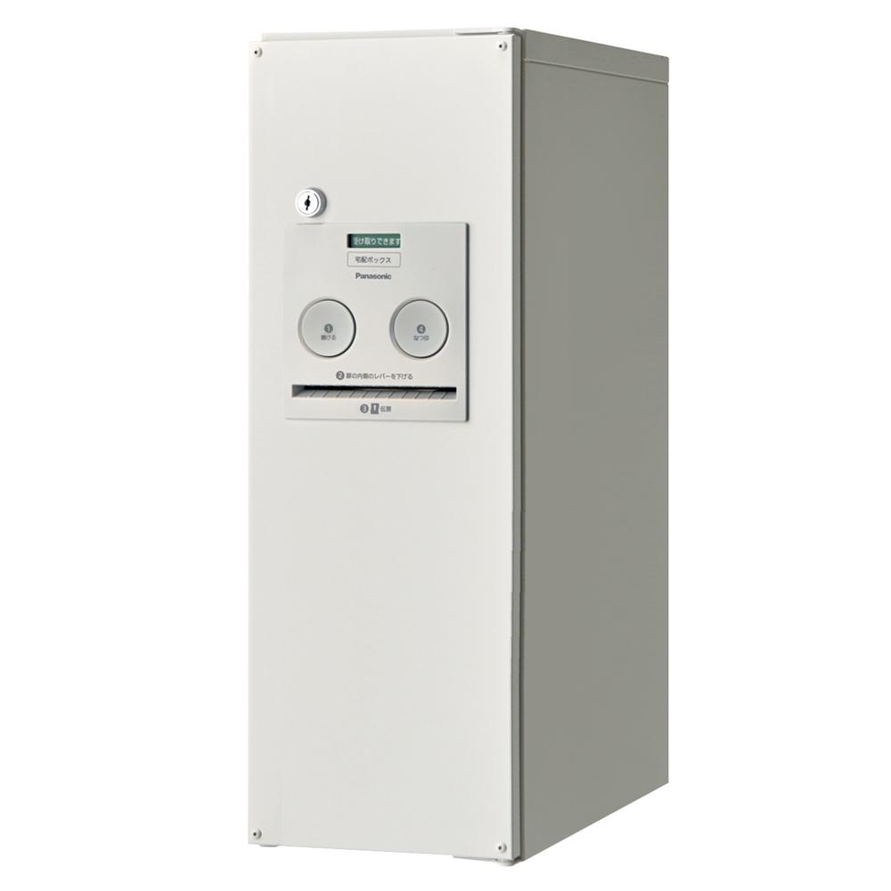 Panasonic(パナソニック) 宅配ボックス コンボ スリムタイプ(後出し・左開き仕様) 漆喰ホワイト色