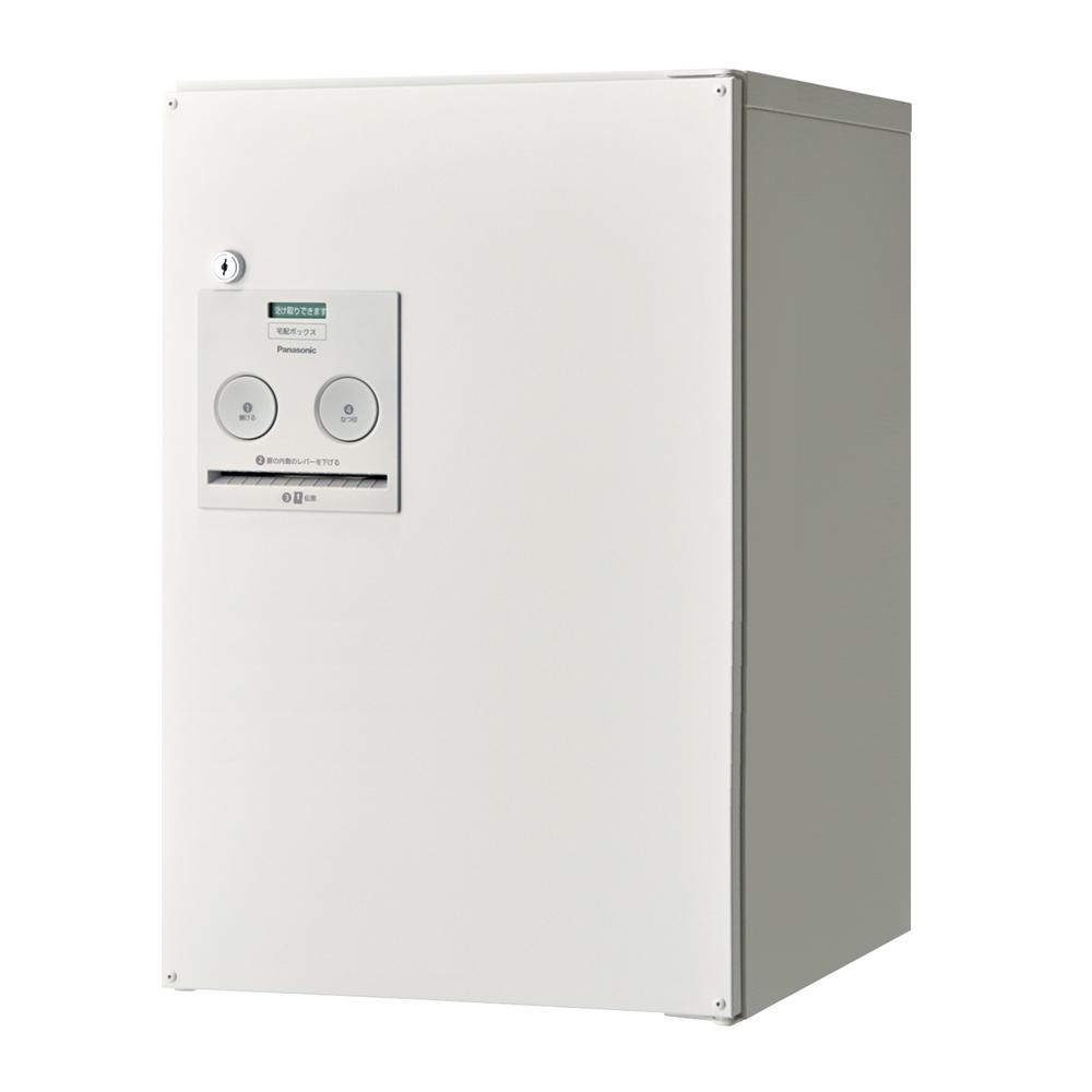 Panasonic(パナソニック) 宅配ボックス コンボ ミドルタイプ(前出し・左開き仕様) 漆喰ホワイト色