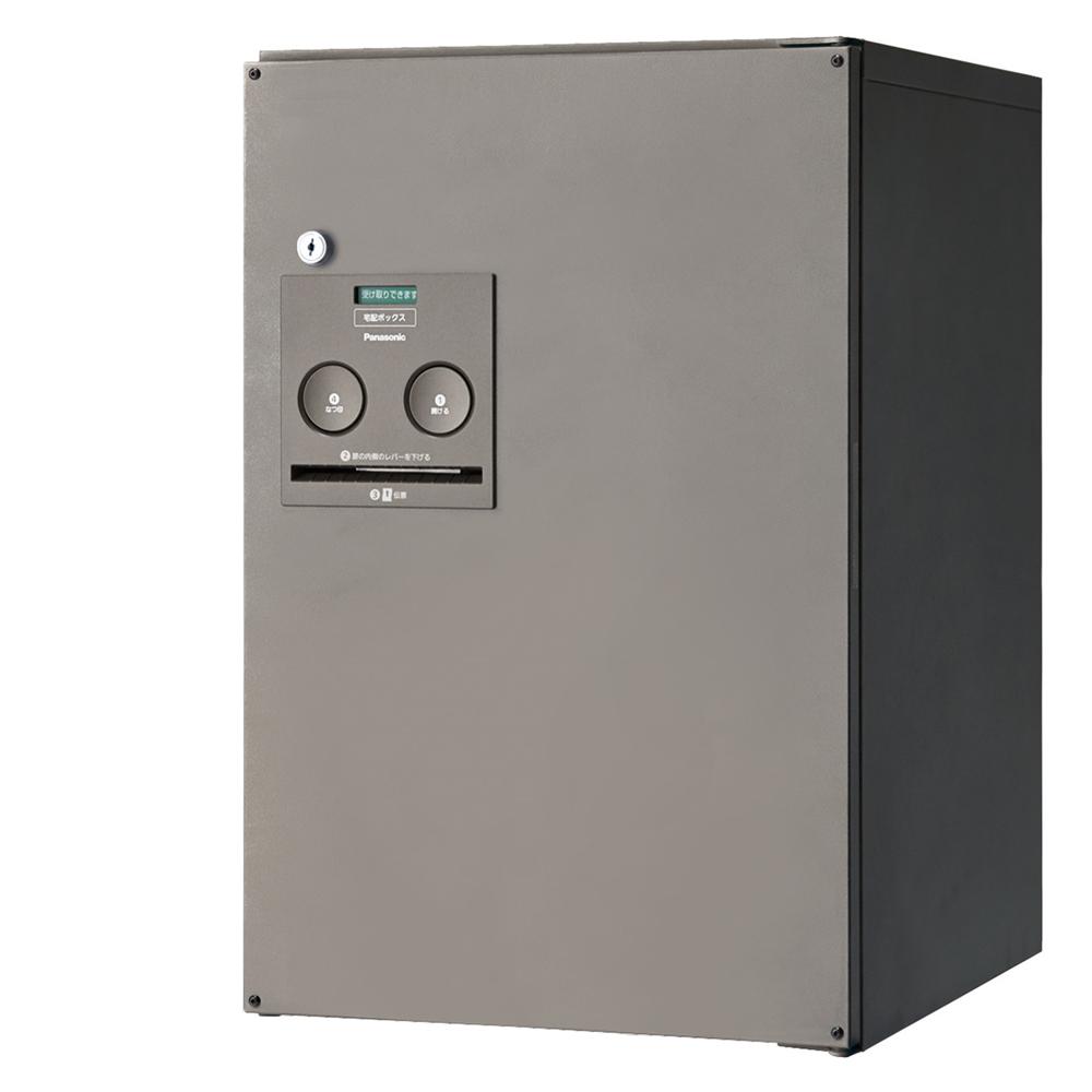 Panasonic(パナソニック) 宅配ボックス コンボ ミドルタイプ(後出し・左開き仕様) ステンシルバー色