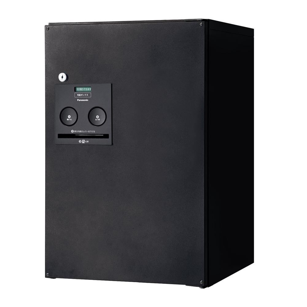 Panasonic(パナソニック) 宅配ボックス コンボ ミドルタイプ(後出し・右開き仕様) 鋳鉄ブラック色