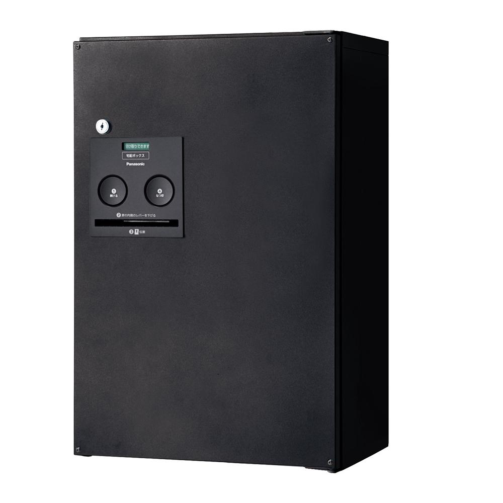 Panasonic(パナソニック) 宅配ボックス コンボ ハーフタイプ(前出し・左開き仕様) 鋳鉄ブラック色