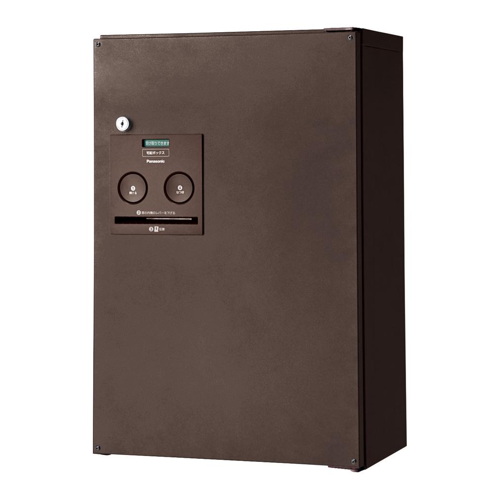 Panasonic(パナソニック) 宅配ボックス コンボ ハーフタイプ(前出し・右開き仕様) エイジングブラウン色