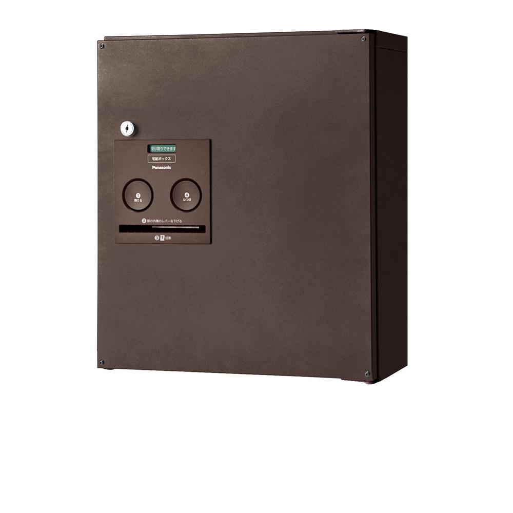 Panasonic(パナソニック) 宅配ボックス コンボ コンパクトタイプ(前出し・左開き仕様) エイジングブラウン色