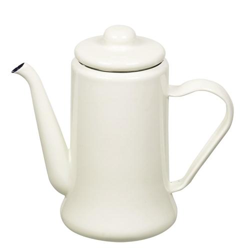 カフェテリア ホーローコーヒーポット 1.1L HB−2582