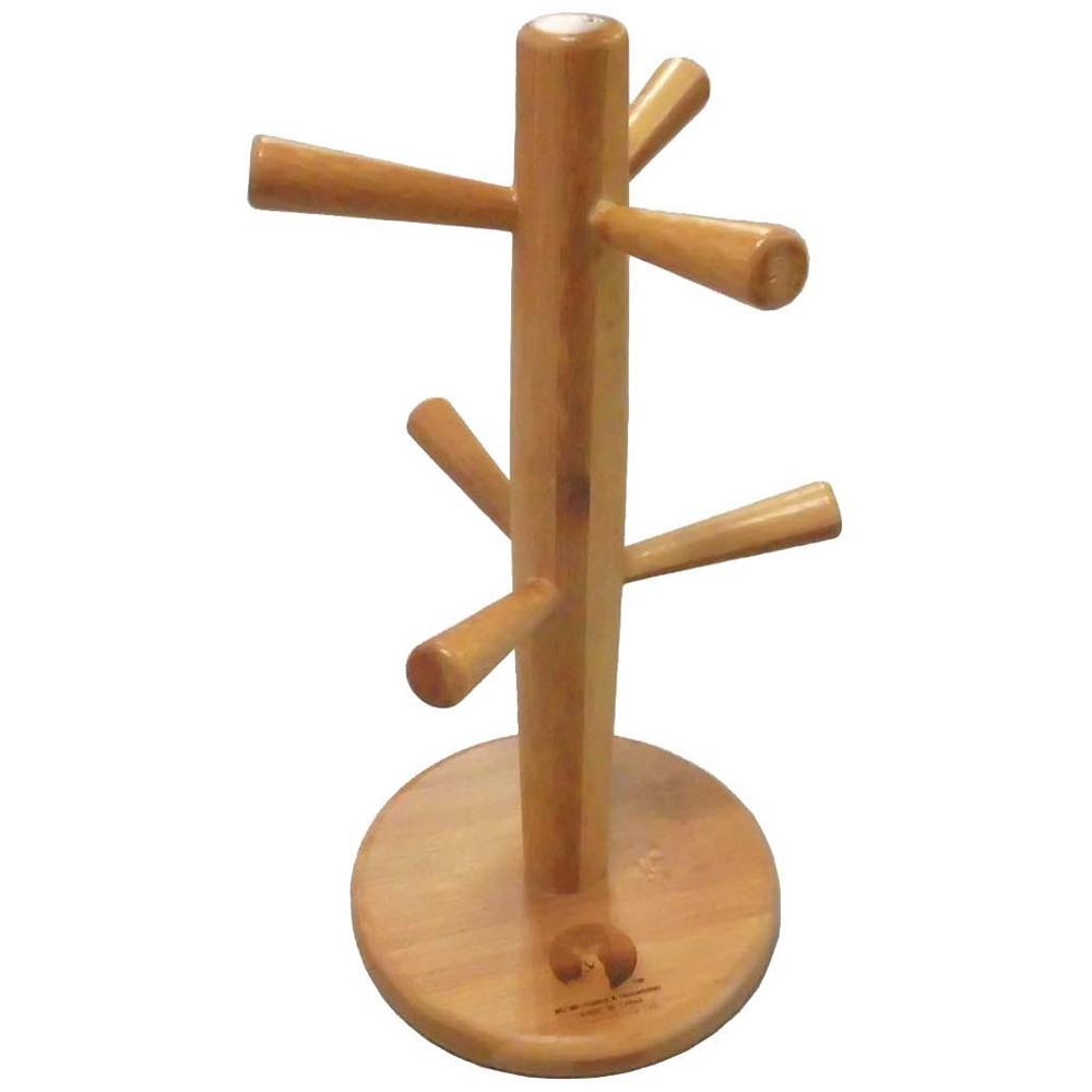 キャプテンスタッグ(CAPTAIN STAG) 竹製食器 マグカップ マグツリー 6フック TAKE-WARE UP-2569 ※カップは別売です。