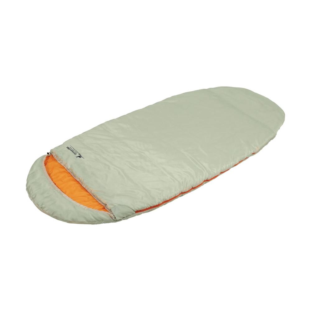キャプテンスタッグ(CAPTAIN STAG) 寝袋 シュラフ エッグ型シュラフ 中綿1200g 【最低使用温度10度】 丸洗い 収納袋付き グラスホワイト UB-21