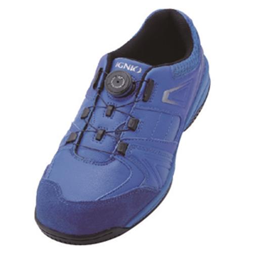 イグニオ 安全靴 ダイヤル IGS1027BL24.0