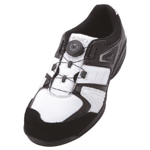 イグニオ 安全靴 ダイヤル IGS1027WH24.0