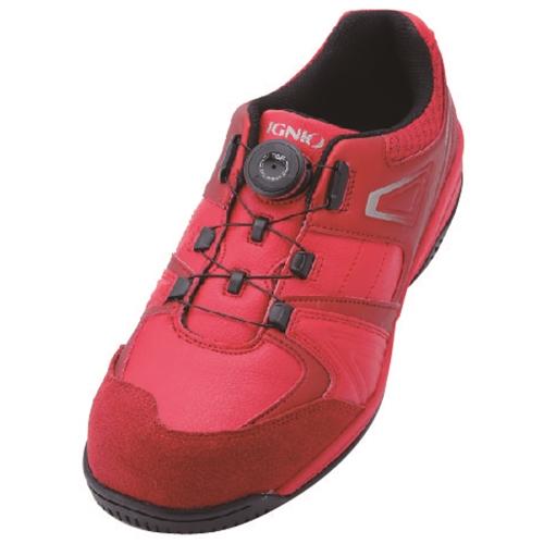 イグニオ 安全靴 ダイヤル IGS1027RD22.5