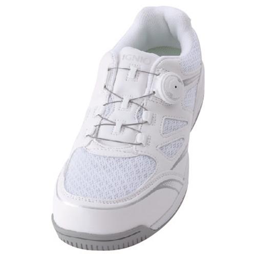 イグニオ 安全靴 ダイヤル IGS1015WH22.5
