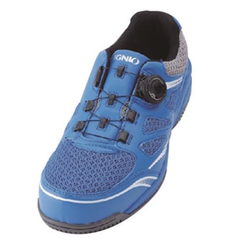 イグニオ 安全靴 ダイヤル IGS1015BL22.5
