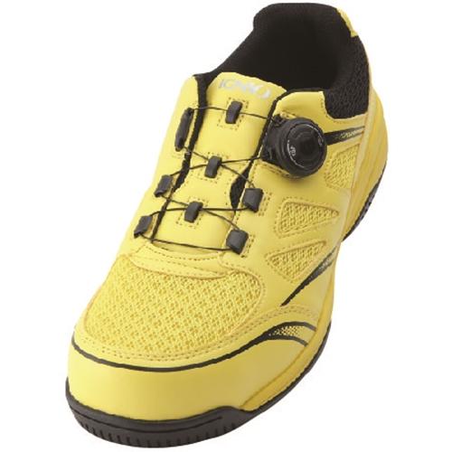イグニオ 安全靴 ダイヤル IGS1015YL22.5