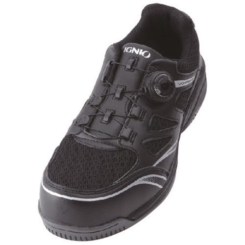 イグニオ 安全靴 ダイヤル IGS1015BK27.5