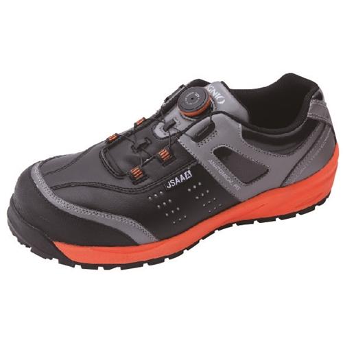 イグニオ 安全靴 ダイヤル IGS1037BKOG24.0