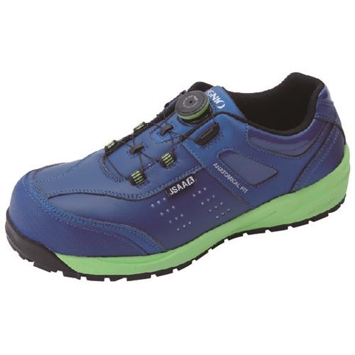 イグニオ 安全靴 ダイヤル IGS1037NV24.0