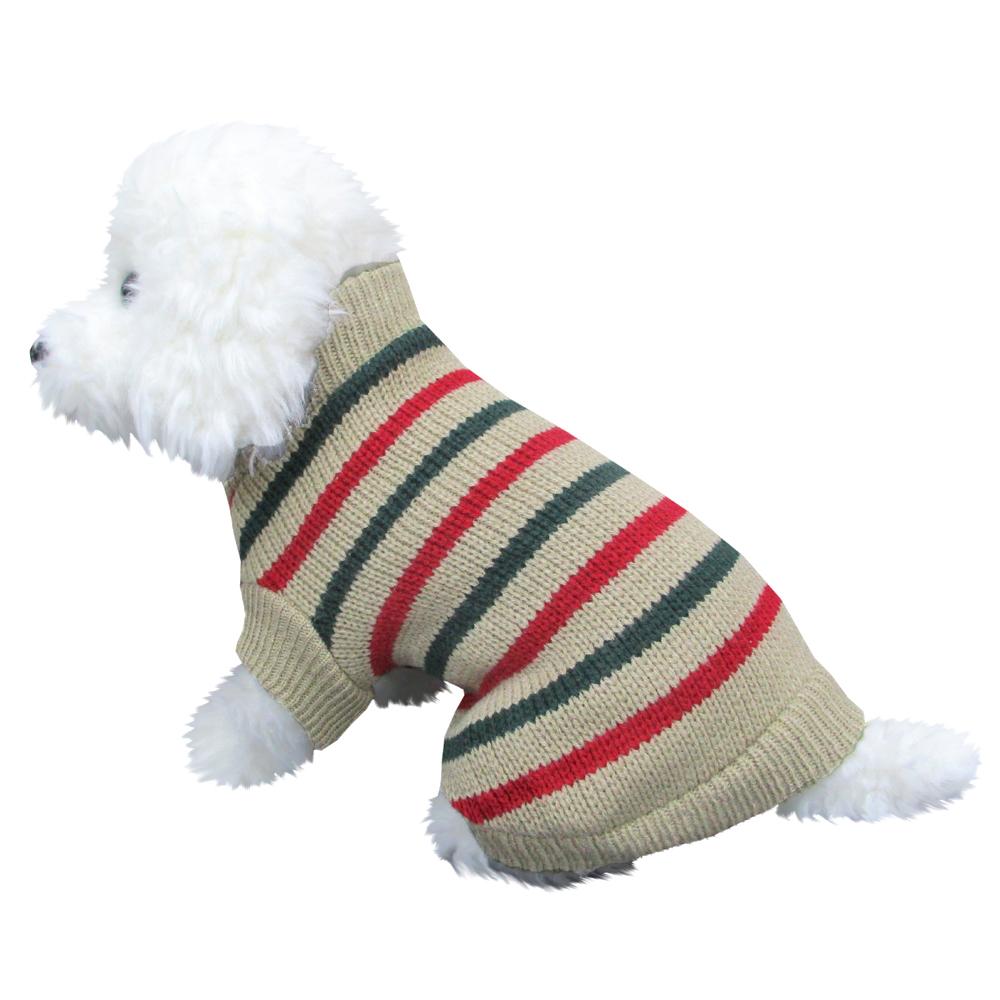 イタリアンセーター グリーン Lサイズ ペットウェア ペット服 かわいい おしゃれ 北欧