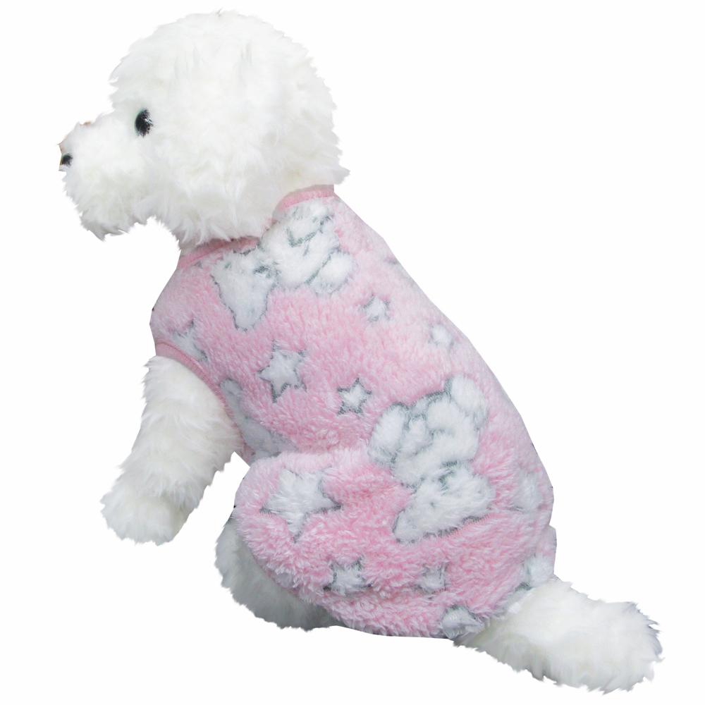 ベア ピンク Mサイズ ペットウェア ペット服 かわいい おしゃれ 北欧