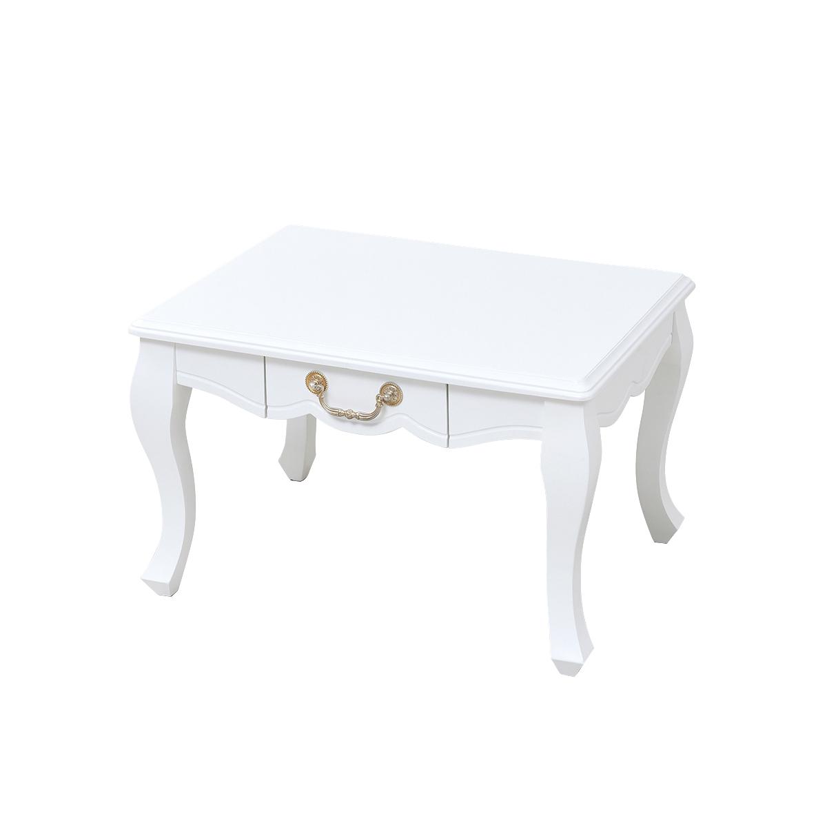 姫系リビングテーブル SGT−0123−WH