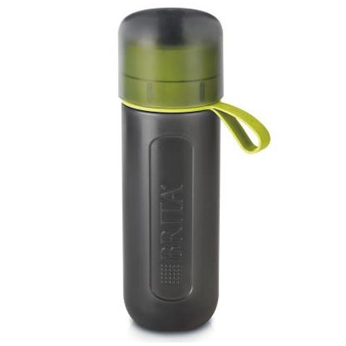 ※※※BRITA(ブリタ) 水筒 直飲み 600ml 携帯用 浄水器 ボトルカートリジッジ1個付き フィル&ゴー アクティブ ライム BJGALIZ (日本仕様・日本正規品)