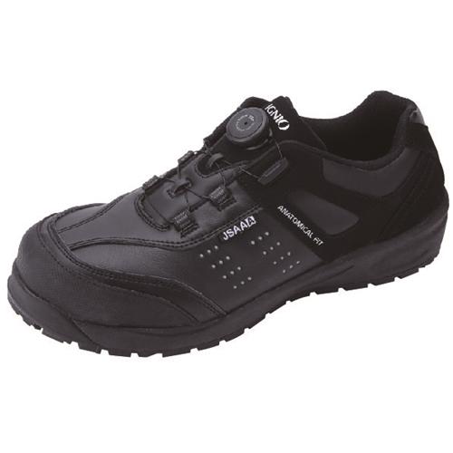 イグニオ 安全靴 ダイヤル IGS1047BK24.0