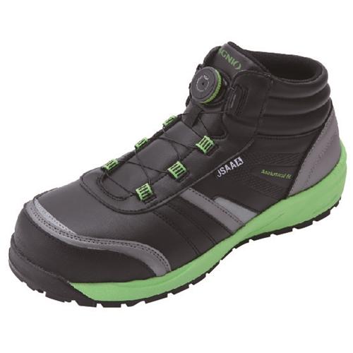 イグニオ 安全靴 ダイヤル IGS1057BK24.0