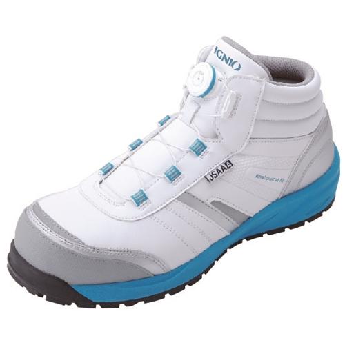 イグニオ 安全靴 ダイヤル IGS1057WH24.0