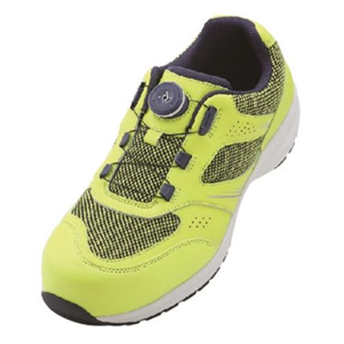 イグニオ 安全靴 ダイヤル IGS1018YLGR24.0