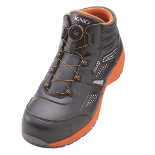 イグニオ 安全靴 ダイヤル IGS1058NV24.0