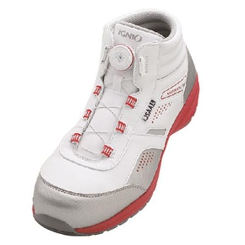 イグニオ 安全靴 ダイヤル IGS1058WH24.0