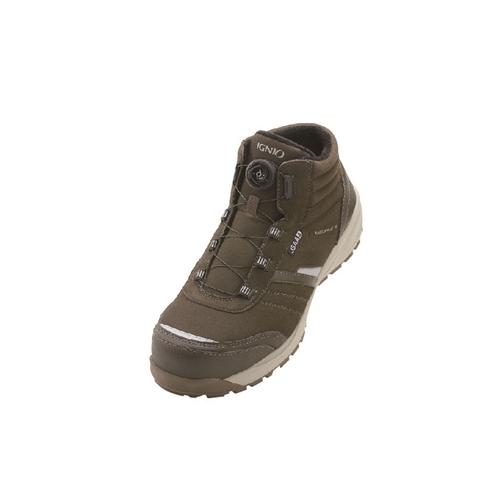 イグニオ 安全靴 ダイヤル IGS1258BR27.5