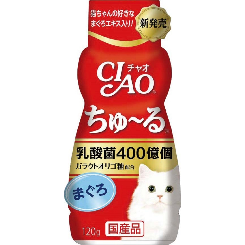 ちゅ〜るボトルまぐろ乳酸菌入り 120g