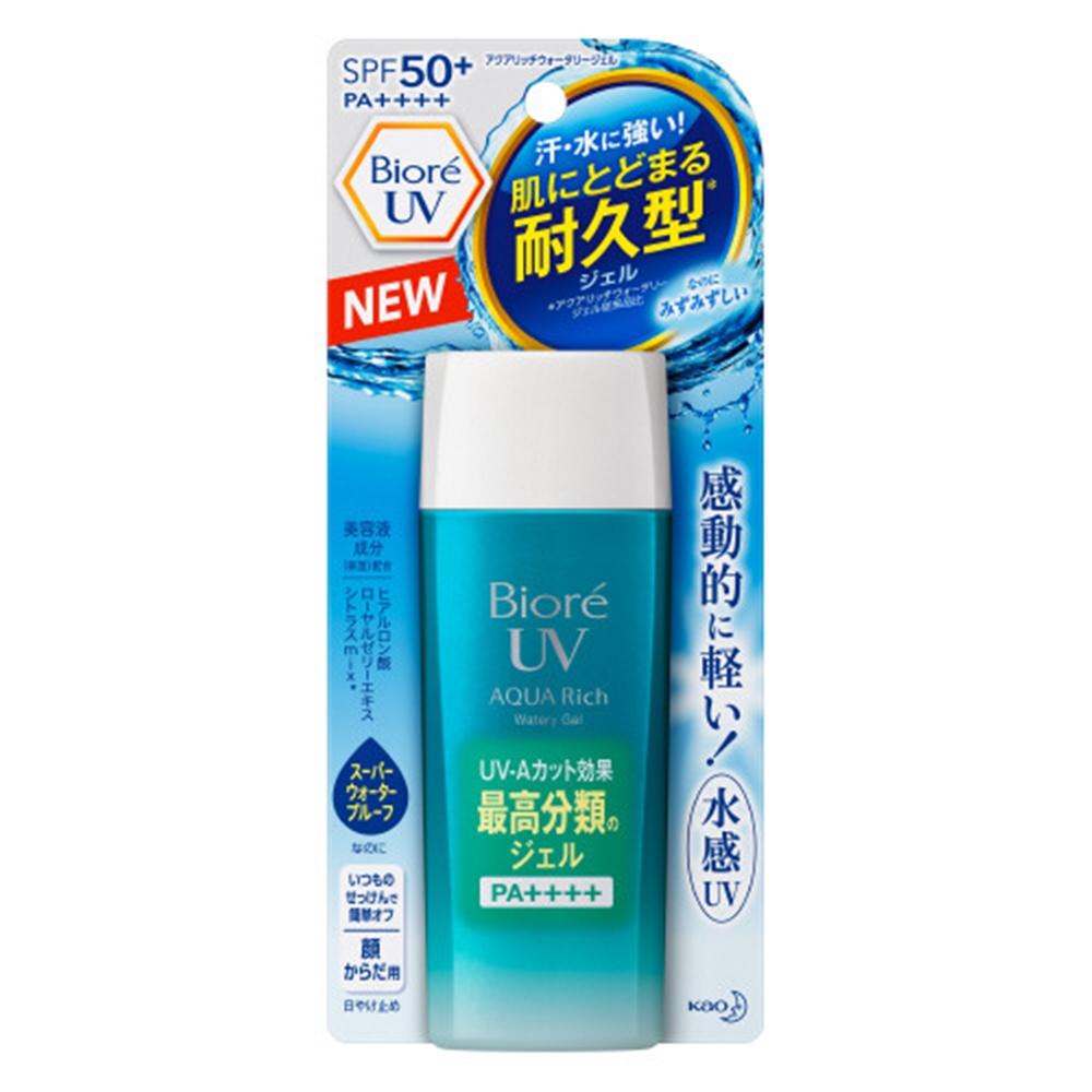 ビオレ UV アクアリッチ ウォータリージェル 90ml [SPF50+/PA++++]