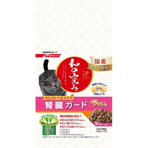 ジェーピースタイル 和の究み セレクトヘルスケア 腎臓の健康維持サポート チキン風味700g