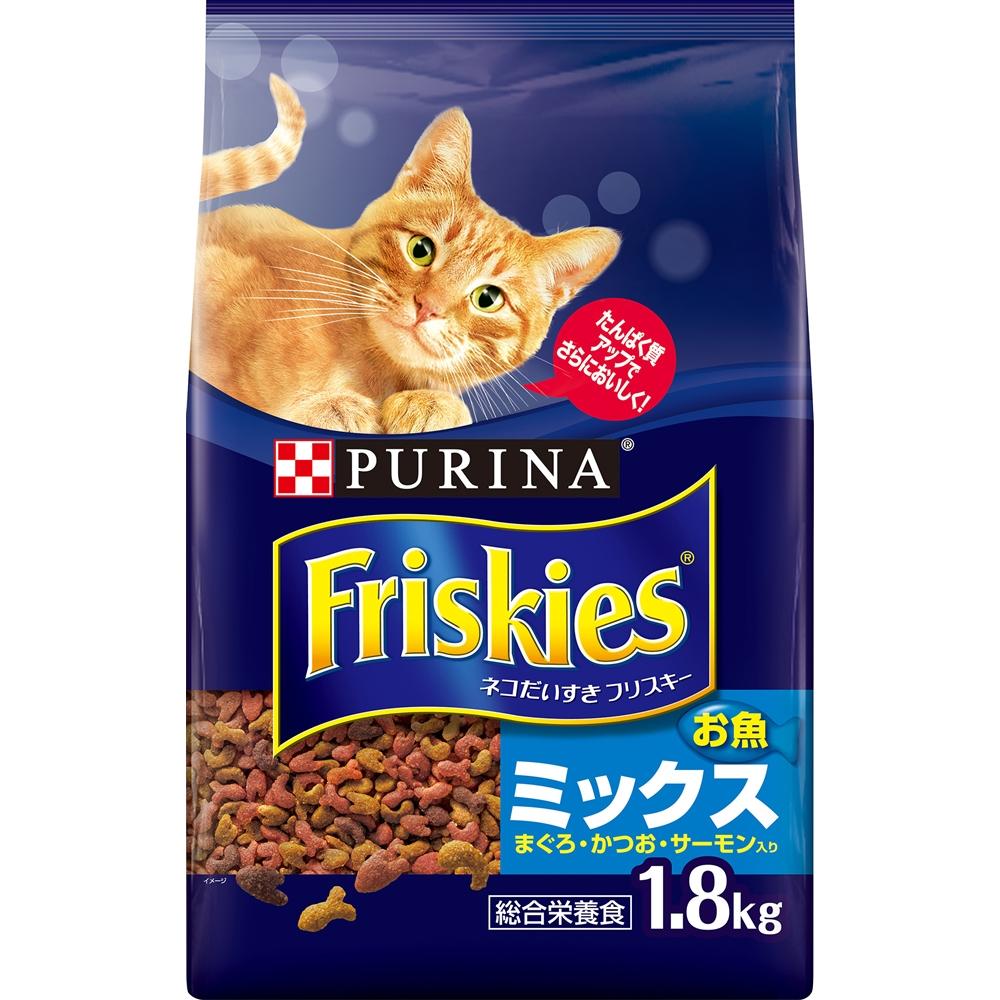 フリスキードライお魚ミックス 1.8kg