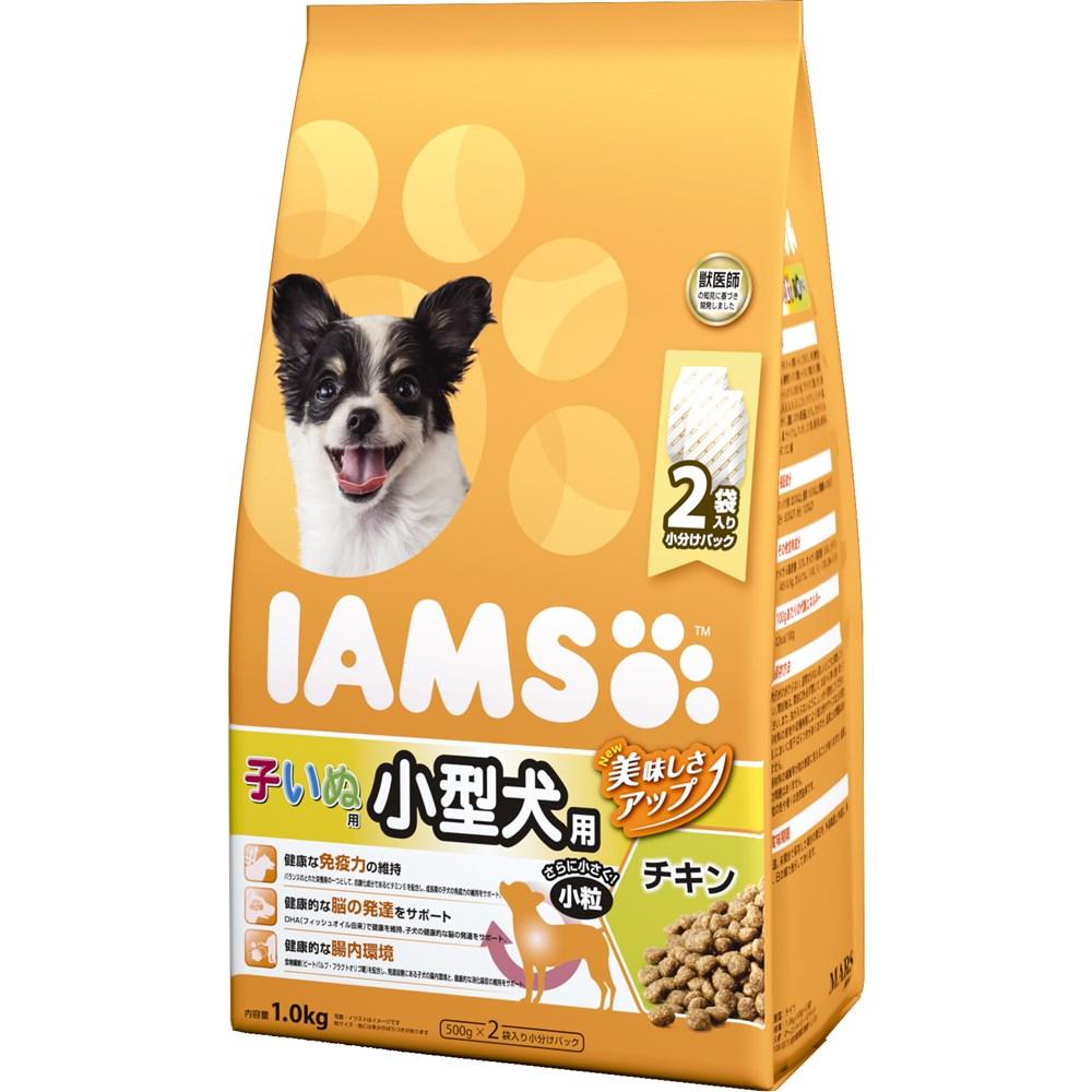 アイムス 12か月までの子いぬ用 小型犬用 チキン 小粒 1kg