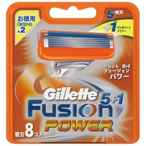 フュージョン5+1パワー替刃8B