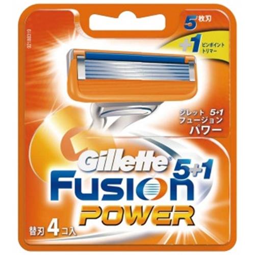 フュージョン5+1パワー替刃4B