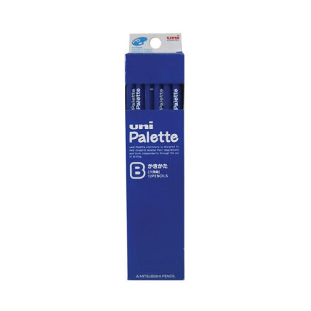ダース鉛筆パレット 青B