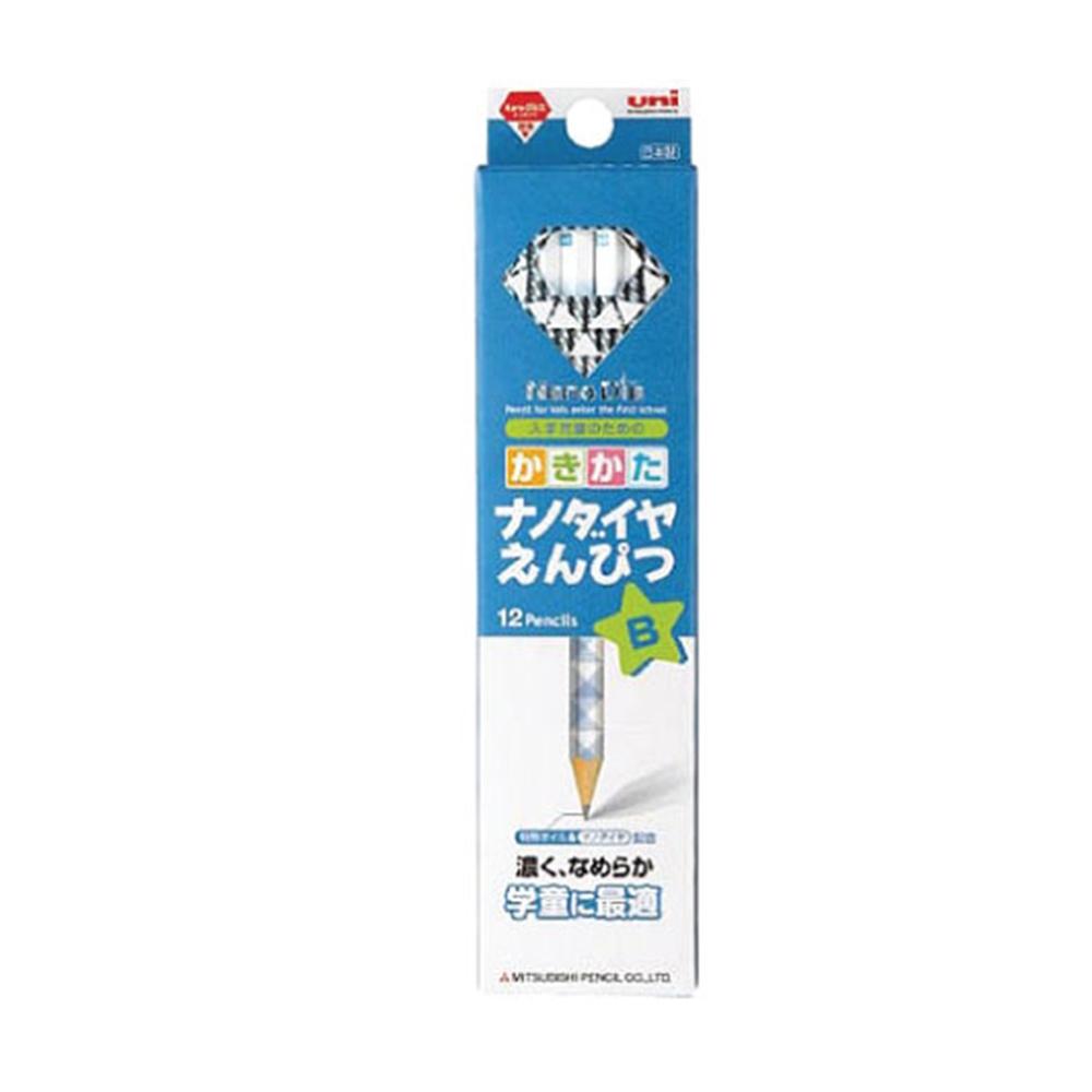 ナノダイヤ鉛筆 B 青 K6901B