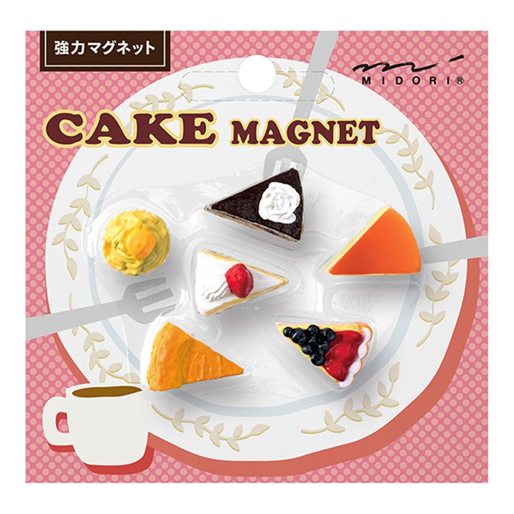 ミニマグネット6個入り ケーキ柄A