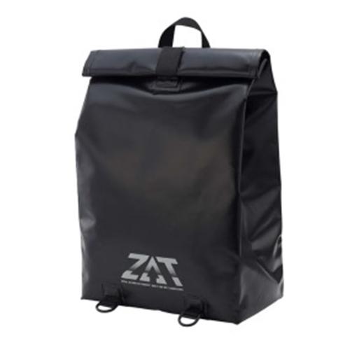ZAT(ザット) 防水素材 無縫製構造バッグ リュックタイプ BLACK