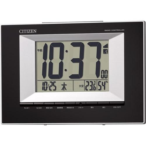 シチズン電波目覚まし時計 8RZ181−002