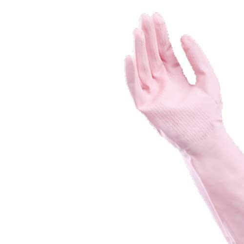 天然ゴム薄手袋 3双組 M (2色)