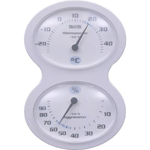 温湿度計 ホワイト